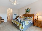 Master Bedroom - NEW 2017 - King size Mattress, Curtains, Blinds, Carpet and Flat Screen TV