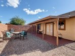 This Tuscon home-away-from-home is the perfect southwestern retreat for 8!