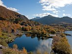 Striking countryside in the Snowdonia National Park
