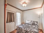 Each bedroom offers a cozy bed to curl up on.