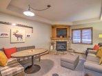 This vacation rental studio condo comfortably sleeps 4 guests.