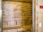 Clear your head and get ready for tomorrow's adventures in the steam room.