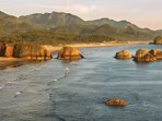 Cannon beach is a couple miles from resort