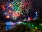 Fireworks all year round!