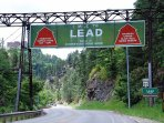 The canyon from Deadwood to LEAD