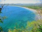 The beautiful  bay of Tenacatita.