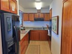 Prepare delicious meals in the fully equipped kitchen.