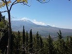 Vista Etna dal Parco dei Nebrodi