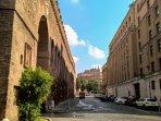 Vista di Castel Sant'Angelo e del Passetto