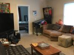 upstairs living room and see main floor also in separate pic