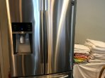 2 refrigerators, this brand new oversized for all your food and beverages