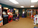 Bring your quarters! The SC Rec Center features an arcade for the kiddos.