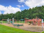 More entertainment- a wonderful playground and playing fields surrounded by a 1/4 mile track.