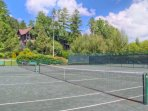 The tennis facility is open and available to all of our guests. Plan your court time now!