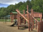 The playground is located at the SV Rec Center and is open to all SV guests.