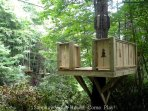 One of the landing platforms along the VORDACH canopy tour. Conquer your fears!