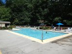 During the summer months, enjoy two outdoor pools located at the SV Rec Center.