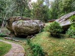 Possibly the biggest boulders you will ever see on a private property.