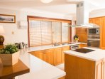 Lovely fully equipped kitchen for the use of guests.