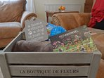 Welcome Hamper for all our Pet Guests with a blanket, pet treats and a toy to help them settle in
