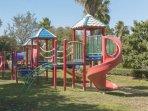 Kids will enjoy the onsite playground