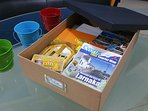 Welcome Pack & Tourist Information Box