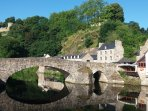 The port of Dinan is just down the river from Taden