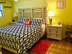 Deluxe California King bed. Bigger than reg king! Designer mattress! Newly renovated & gorgeous!