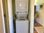 Washer/Dryer in the unit