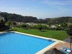 Swimming pool with views of San Pedro beach