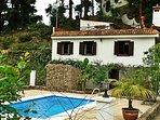 Casa en Medio del Bosque en Tenerife Norte Casa Los Castaños Casa y piscina