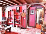 Casa en Medio del Bosque en Tenerife Norte Casa Los Castaños Comedor
