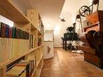 Biblioteca, molinos y mucho más. Casa-Molino: El Molino del Panadero
