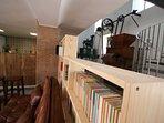 Biblioteca, molinos. Casa-Molino: El Molino del Panadero