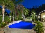 Building, Garden, Yard, Patio, Pool