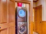 Snowbird 406 Laundry Closet