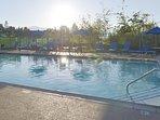 Heated outdoor pool!