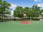 Basketball Court For Family Fun