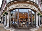 Bettys famous tea rooms just a 5-10 minute walk away