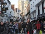 Yorks famous shambles and minster - 5- 10 minutes walk from the apartment