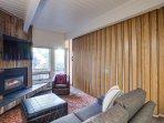 Living Room, sleeper sofa, enclosed bedroom