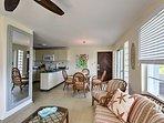 Paradise awaits you at this fabulous beachfront vacation rental condo.
