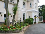 Well maintained period property with a parking space for each apartment.