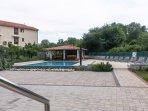Swimming pool and gazebo