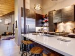 Newly remodeled kitchen with everything you'll need