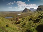 Wonderful walking! The Trotternish Ridge path and Quiraing are on your doorstep. Explore & enjoy!