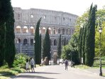 Nearby: Colosseum view from Colle Oppio garden