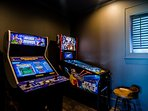 Arcade Gaming Area Located on the Ground Level