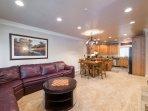 Large Spacious Living Room/Full Sofa Sleeper