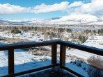 Stunning views of Pineview Reservoir